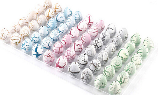White 2*3CM Small Cute Magic Growing Dino Egg Hatching Dinosaur Add Water Eggs Child Toy Gift YH143