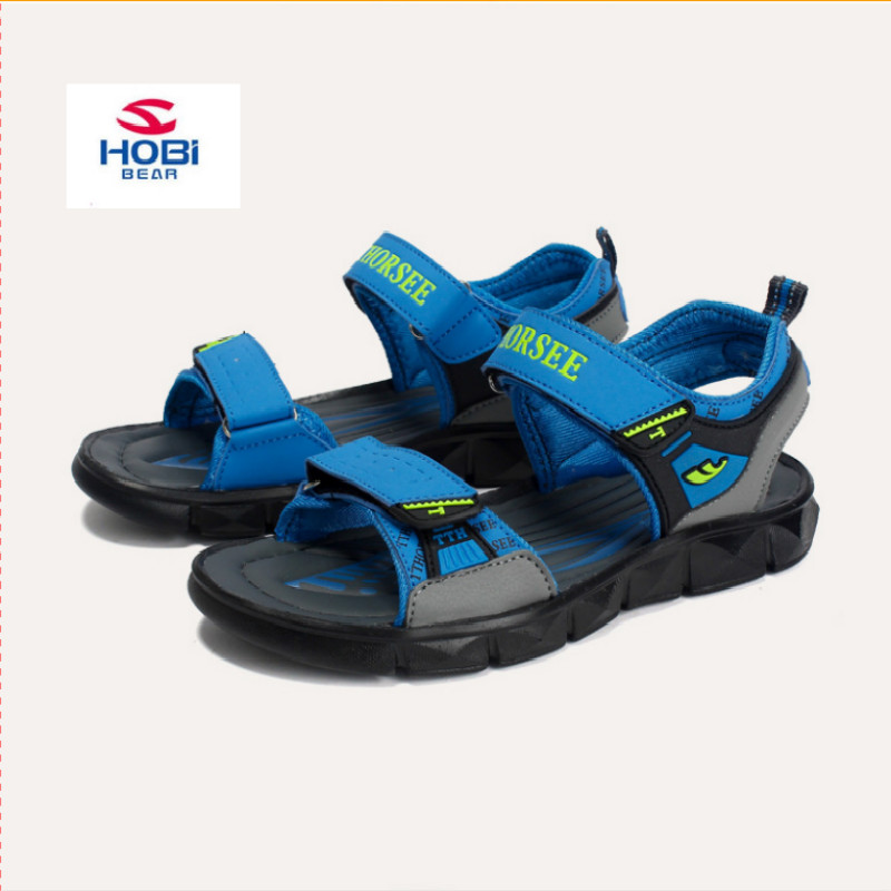 2018 Summer Beach Sandals For Boys Kids Sandals Children Shoes Breathable Cut-outs Quick-dry School Sport sandalia Shoes
