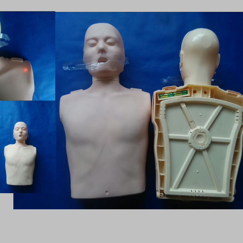 BIX/CPR100A Half-Body Electronic Cardiopulmonary Resuscitation Simulator WBW101 half a king