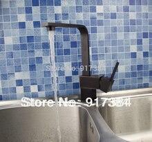 Кухня поворотный 360 раковина кран бассейна масло втирают Бронзовый Смеситель кран de-0139