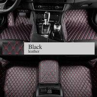 Пользовательские автомобильные коврики для всех моделей Toyota Corolla Camry Rav4 Auris Prius Yalis Avensis 2014 аксессуары авто Стиль Коврик