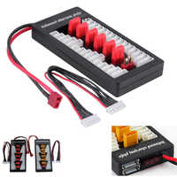 2S-6S XT60 T DEAN Plug Parallel Charging Board Balance Charge Plate Lipo Battery iMAX B6 B6AC power distribution board