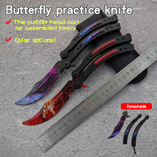 Disassembly CS GO butterfly in knife butterfly training knife