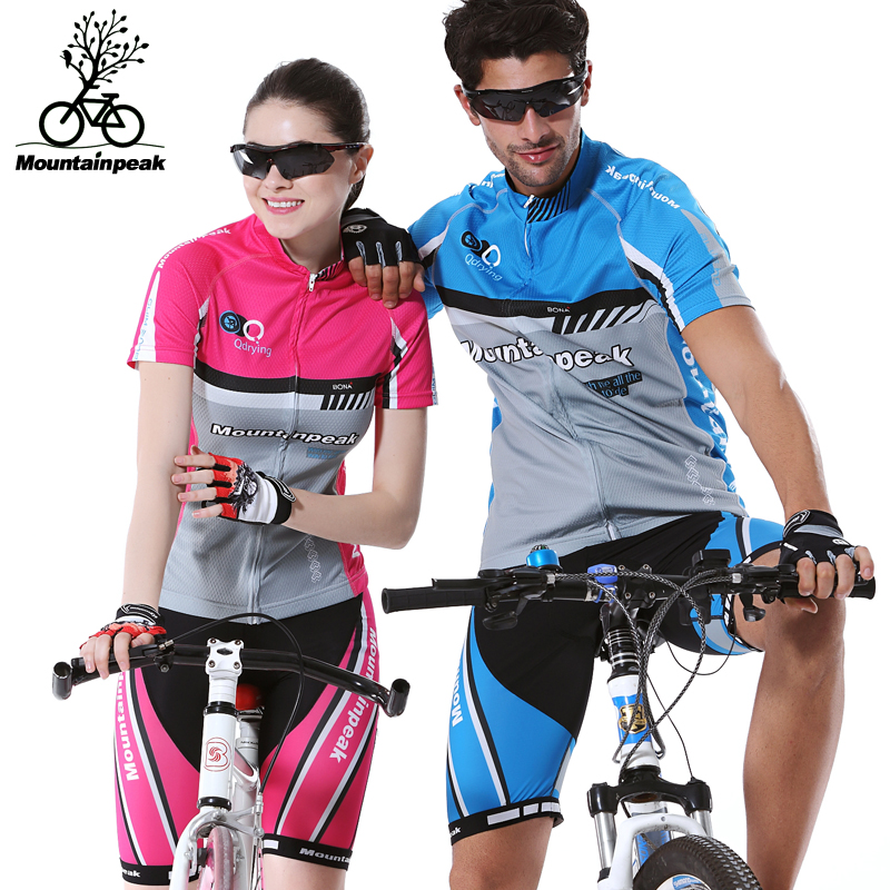 ФОТО Mountainpeak Qashqai Cycling Shorts In The Summer of Cycling Jerseys Short Sleeve Suit Men and Women Bicycle Clothing For