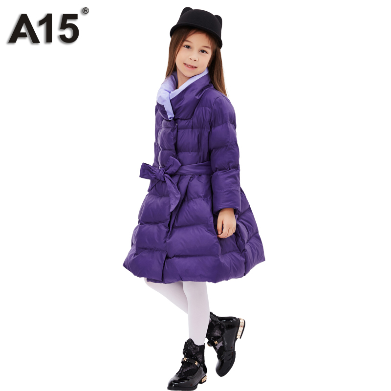 A15 Mädchen Daunenjacke Winter Dicke 2017 Marke Fashion Lange Warme Mantel Für Kinder Mit Kapuze Oberbekleidung Für Große Mädchen Kleidung 8 10 Guter Geschmack