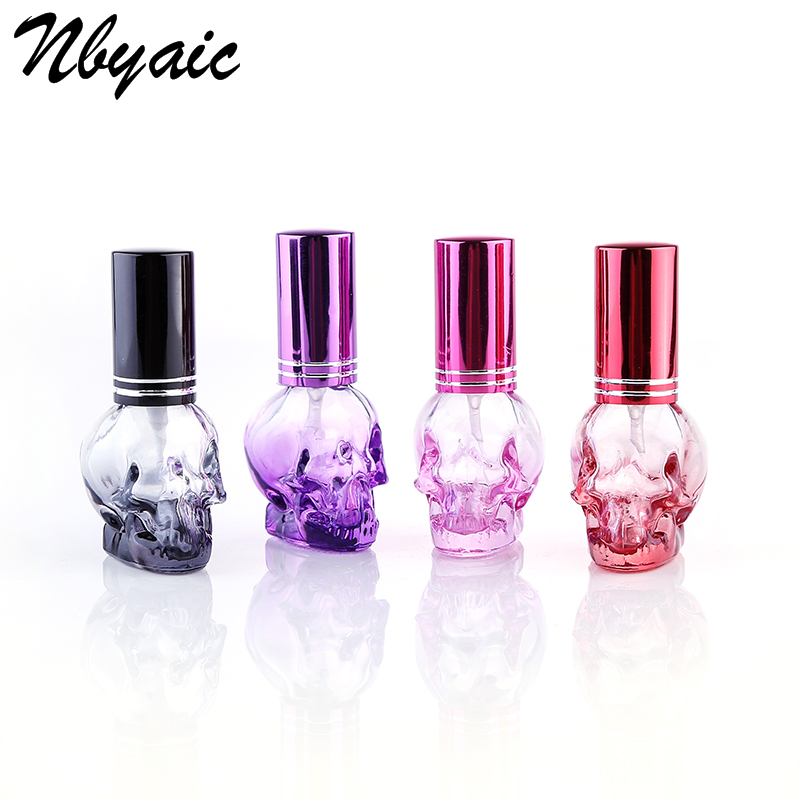 Nbyaic 1Pcs Explosion Models 8ml Color. Kulo Spray Glass Perfume Bottle Portable Perfume Sub-bottle Perfume Bottle