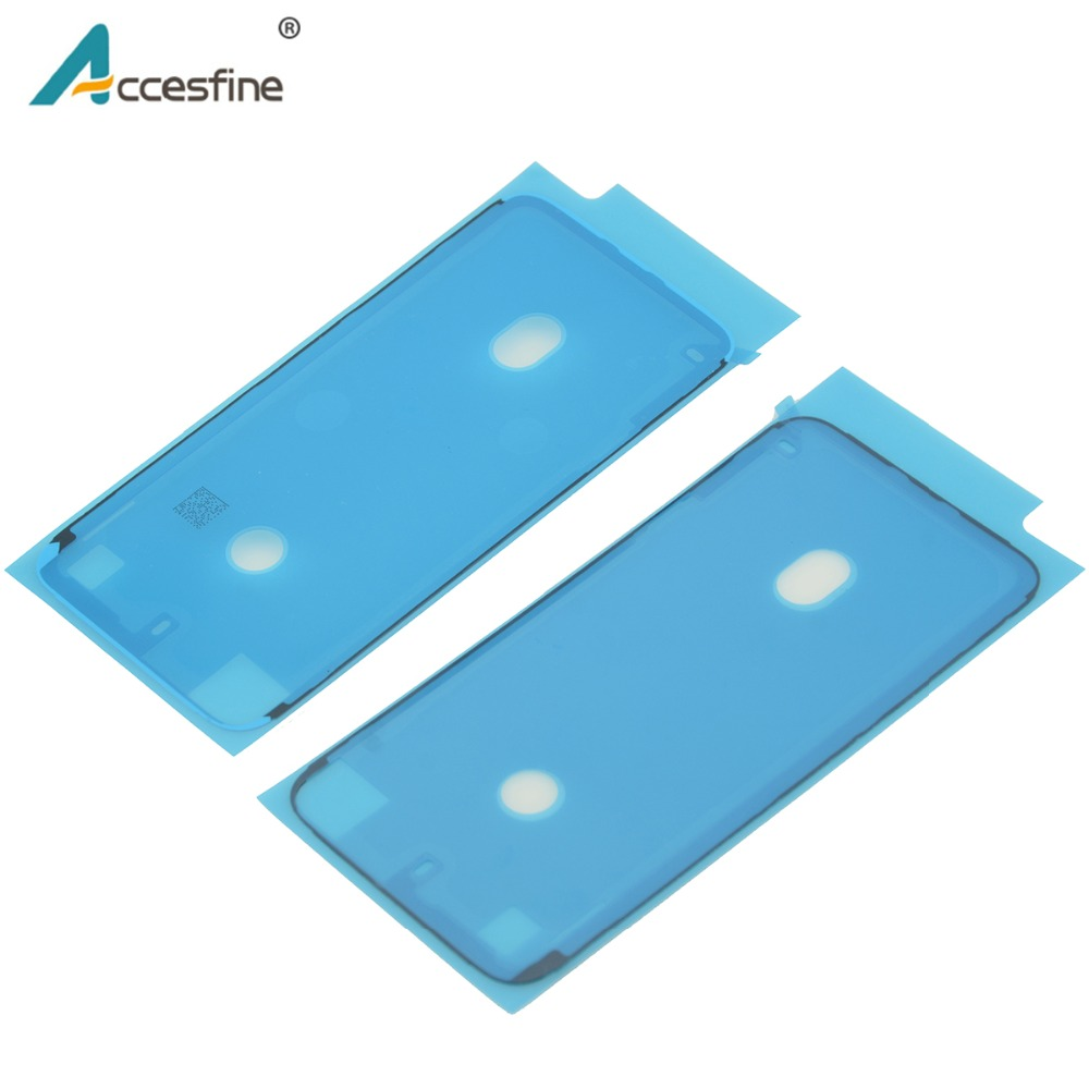 2 x Waterproof Sticker for iPhone 6S 7 8 Plus X XR XS Max Adhesive Pre Cut LCD Screen Frame Tape