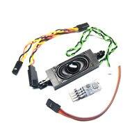 Oyuncaklar ve Hobi Ürünleri'ten Parçalar ve Aksesuarlar'de DasMikro TBS Mini Programlanabilir Motor Ses Ünitesi Orlandoo F150 OH35P01 için WPL Kamyon JJRC Q64 Q65 KITI Mikro RC Paletli