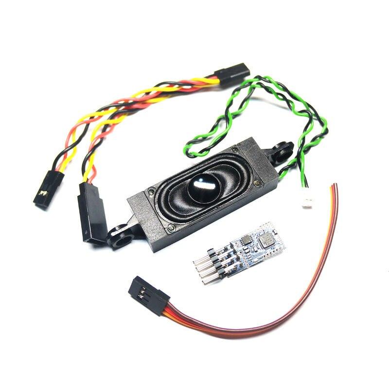 Dasmigro TBS Mini programowalny moduł dźwiękowy silnika dla Orlandoo F150 OH35P01 dla ciężarówki WPL dla JJRC Q64 Q65 zestaw mikro RC Crawlers