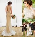 2016 Retro Jenny Packham Luxury Wedding Dress Exquisite Crystals Beading Court Train Vintage Garden Bride Bridal Gown