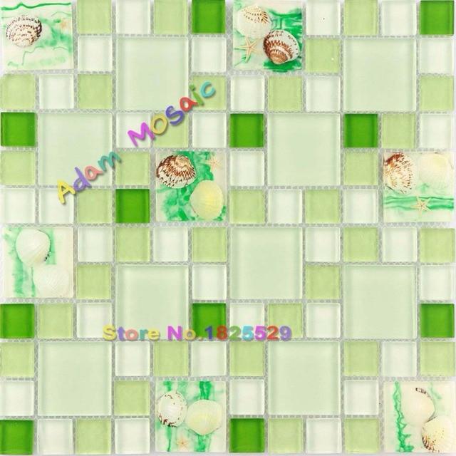Piastrelle bagno verde - Piastrelle bagno altezza giusta ...