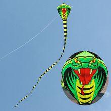 2019 New Arrival Cartoon Mamba Snake Kites FRP Rod Flying Sports Beach Kitesurf Children Gift Family Outdoor Sport Activity