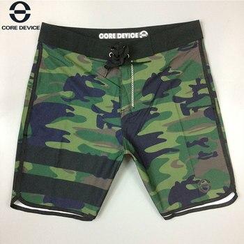 2018 verano nuevo estilo de camuflaje pantalones cortos de playa elásticos pantalones cortos casuales de gran tamaño transpirables finos a prueba de agua