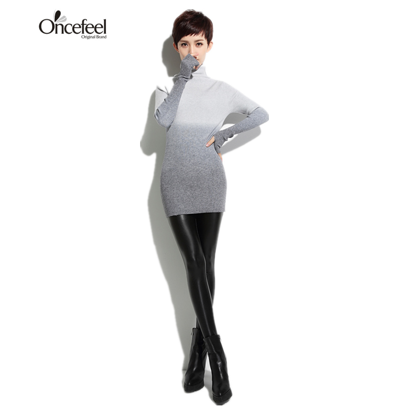 High necked sweater gradient high necked sweater shirt lady mango lady loose knitted women s ultra