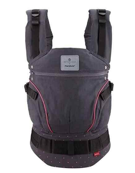 Bellybutton by Manduca chusta do noszenia dzieci wielofunkcyjne organiczne bawełniane nosidełko regulowane niemowlę maluch przewoźnik 2017