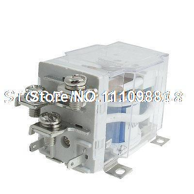 JQX-40F-1Z AC 220V 50A 5 Pin Electromagnetic Power Relay SPDT 1 NO 1 NC