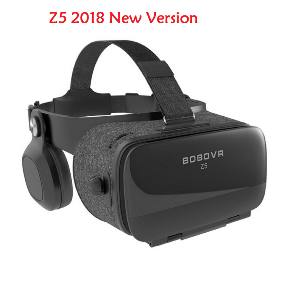 NEW Version BOBOVR Z5 120 FOV VR Virtual Reality Glasses Remote 3D Android Cardboard VR for  Smart phones 4.7-6.2