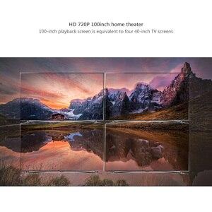 Image 2 - ThundeaL TD80 Mini led projektör 1280x720 taşınabilir HD HDMI Video C80 3D LCD C80 UP Android WiFi C80Up Beamer ev sinema