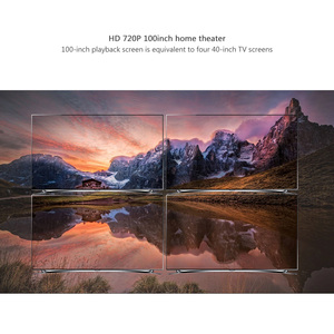 Image 2 - Thundeal td80 mini projetor led 1280x720 portátil hd hdmi vídeo c80 3d lcd c80 up android wifi c80up beamer casa cinema