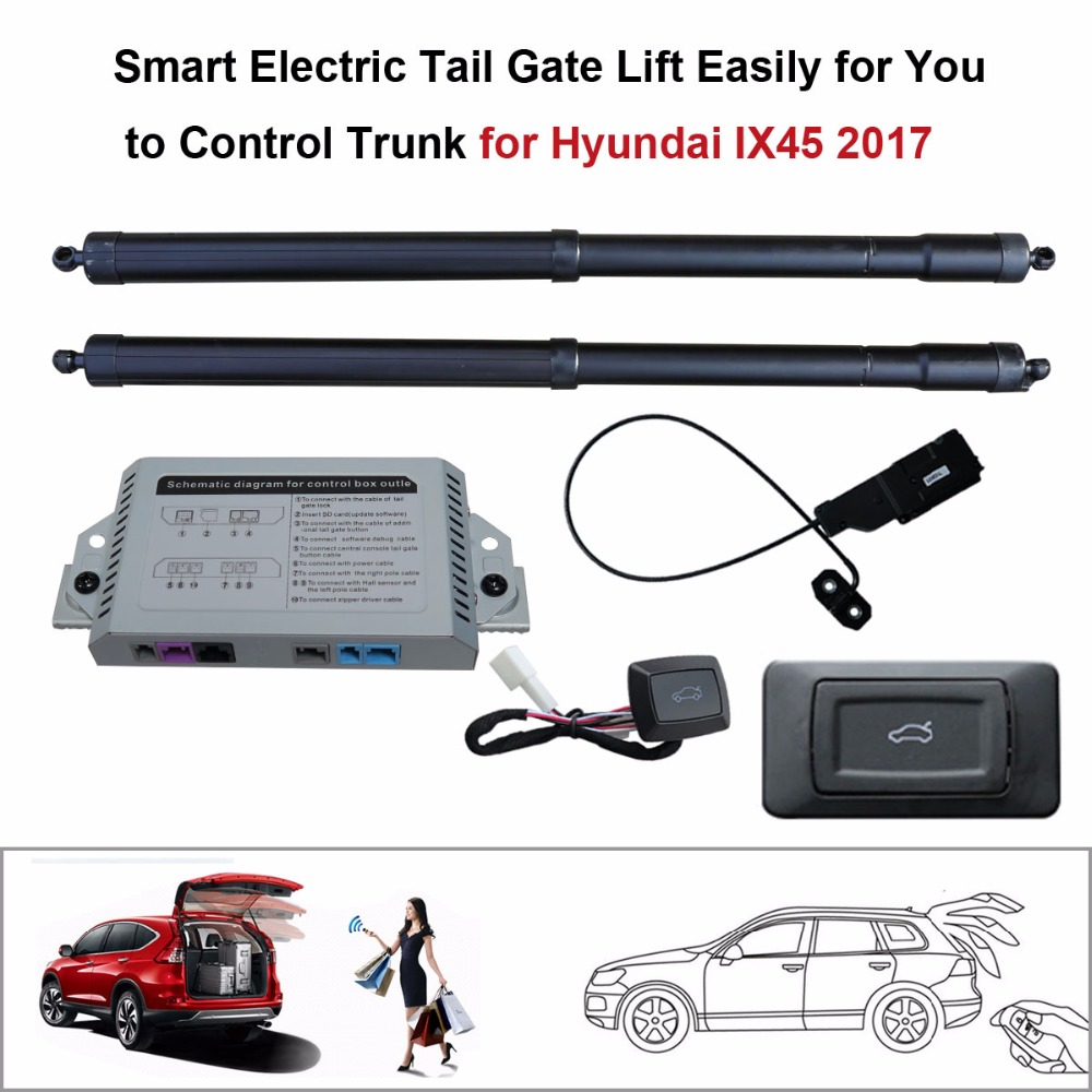 Electric Tail Gate Lift for Hyundai IX45 2017 Control by Remote
