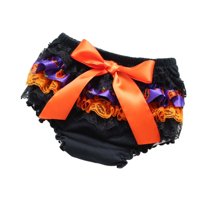 Toddler Girls Lace Ruffle Pants Bloomers Nappy Cover Tutu Skirt Shorts Bottoms Skirts