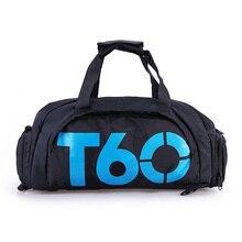 Men Women Outdoor Sport Bags T60 Waterproof luggage/travel Bag/ Gym Sport Backpack Multifunctional Sports Bag Green Duffle Bags