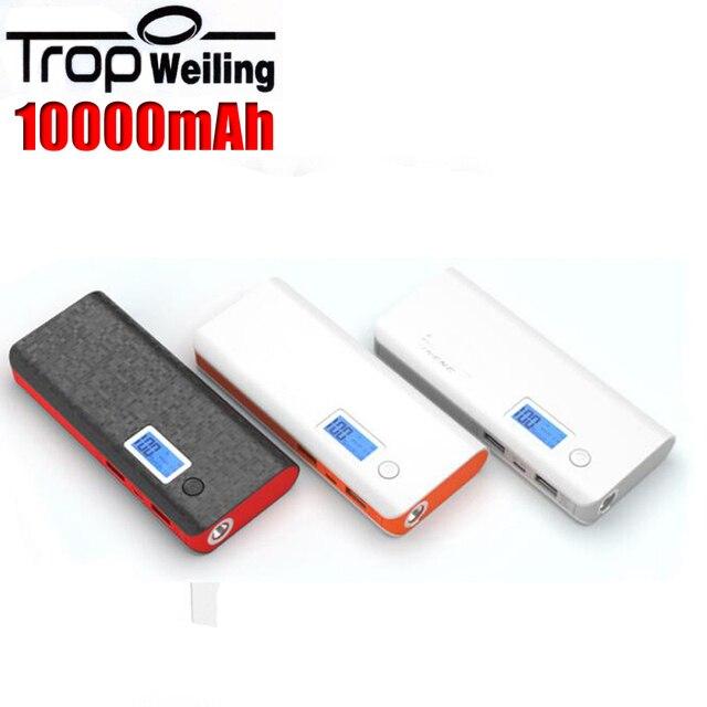 Tropweiling pover банк 10000 мАч портативный телефон зарядное устройство poverbank mi power bank для Всех phones6 batterie externe