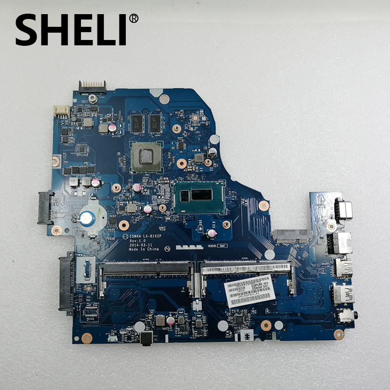 SHELI For font b Acer b font aspire E1 572 Laptop Motherboard I7 4510U CPU HM86