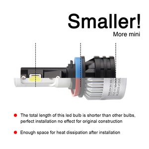 Image 2 - BraveWay H4 LED araba ampuller H4 H7 H8 H3 H11 H1 9005 9006 HB3 HB4 için LED far araba farı Turbo ampuller için otomatik 12V CANBUS