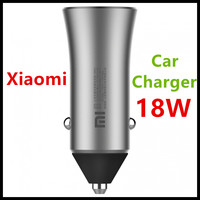 New Xiaomi Dual USB Car Charger CC05ZM 18W Fast Quick Charge Version Light Indicate Competiable with Most Phones   Tablet   PC