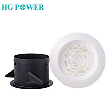 4inch Plastic Round Air Ventilation Grille Vent Extractor Fan ABS Louver Cover Heating Cooling Vents Ducting