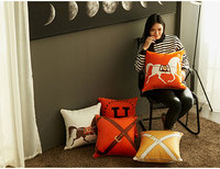 Lisi velvet double sided printed cushion cover Light luxury decorative pillowcase Cushion Cover Pillow Cover Pillow Case