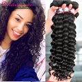 8A Malaysian Virgin Hair Natural Loose Deep Wave Malaysian More Wavy Hair Bundles Ali Pearl Hair #1B 16 18 20 Virgin Malaysian