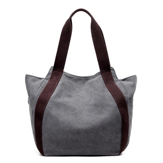 KVKY 4 Color Famous Brands Designer Youth Female Big Canvas Bags Women Tote  Large Capacity Shoulder Hobos Bag Hot Sale Handbags 3b630df50e39b
