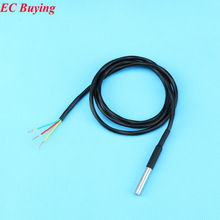 Stainless Steel Package 1 Meters Waterproof DS18b20 Temperature Probe Temperature Sensor 18B20