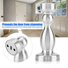 Stainless Steel Door Stopper Strong Magnetic Stop Anti-collision Thicken Hardware Accessories tope puerta