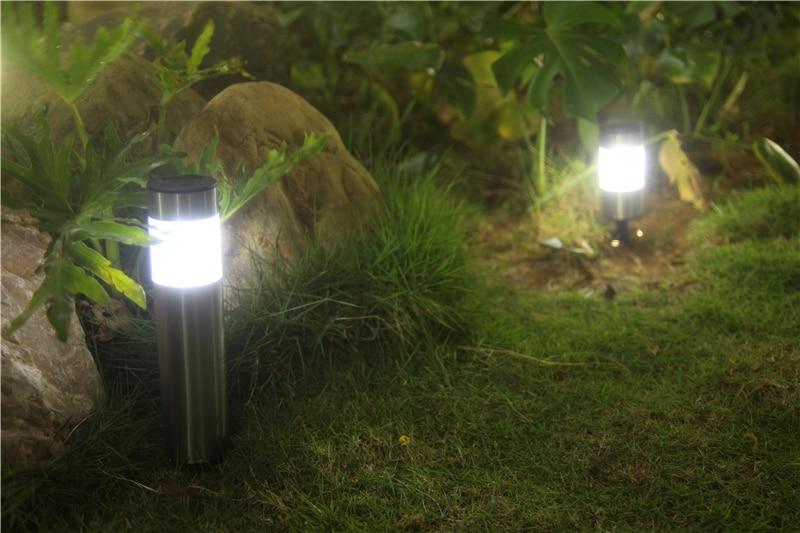 Solar Lampen Tuin : Pearlstar 4 stücke led solar stecker lichter garten rasen solar