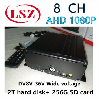 Tongtianxing AHD1080P car hard disk host hard disk SD card two and one DC8V-36VC voltage source factory