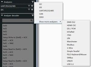 Image 5 - Kingst la1010 usb logic analyzer 100m taxa de amostra máxima, 16 canais, 10b amostras, mcu, braço, fpga debug ferramenta inglês software