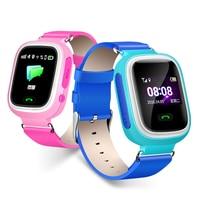Nvpone GPS Q90 Smartwatch Touch Screen WIFI Position Children Smart Wrist Watch Fitness Tracker Locator Kid Safe Anti Lost Watch
