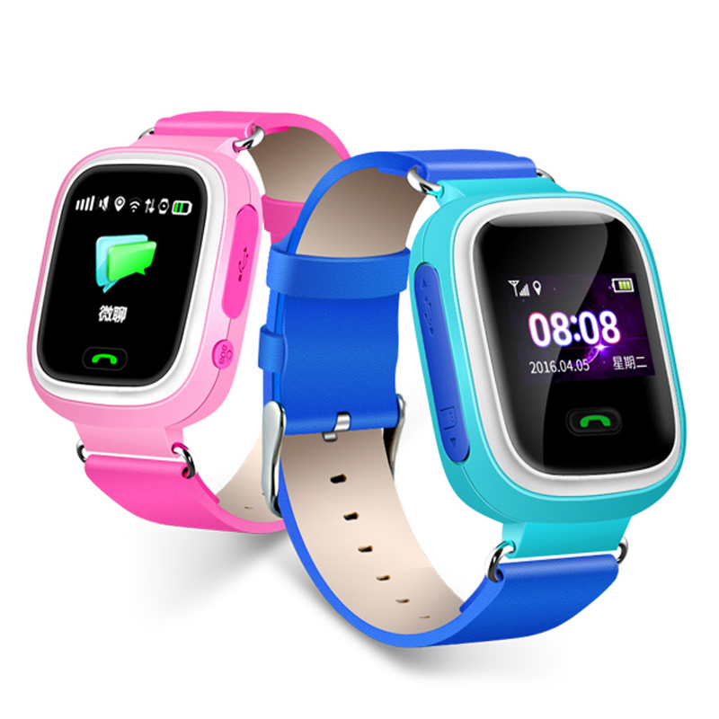 Nvpone <font><b>GPS</b></font> <font><b>Q90</b></font> Smartwatch Touch Screen WIFI Position Children Smart Wrist Watch Fitness Tracker Locator Kid Safe Anti-Lost Watch image