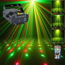 Новый Мини Портативный ИК-Пульт Дистанционного RG Метеоритный Лазерный Проектор Огни DJ KTV Home
