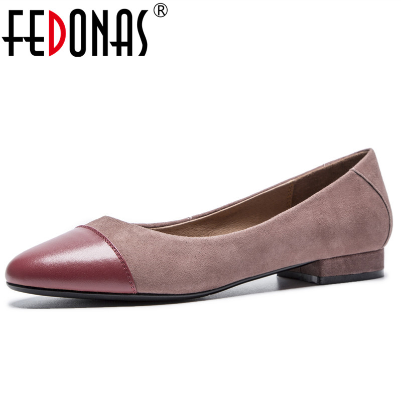 FEDONAS Elegant Women High Heeled Fashion Pumps Round Toe Comfort Office Pumps Genuine Leather Wedding Party Office Shoes WomanFEDONAS Elegant Women High Heeled Fashion Pumps Round Toe Comfort Office Pumps Genuine Leather Wedding Party Office Shoes Woman