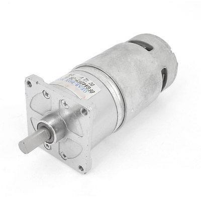 12VDC 24VDC 100 RPM 5-1000RPM Output Speed Cylinder Shaped Oven Geared Motor DFGA42F цена