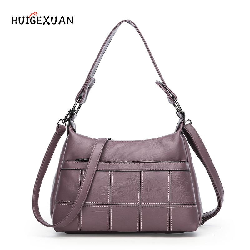 Hot Sale Female Messenger Bags Feminina Bolsa Leather Luxury Handbags Women Bags Designer New Ladies Shoulder Bag Sac a Main 2017 fashion shoulder handbag litchi genuine leather luxury ladies handbags women bags female designer bag bolsa feminina sac