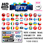 Live IPTV Receiver Box 7000+ Global Channels from Asian American Europe Arabic Brazil India , Subscription Service
