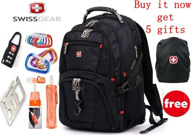 Swiss Army Swissgear Laptop Backpack Bag Man 15 6 Inch Swisswin Notebook Computer