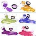 Brillo Del Tatuaje 5 Tintas de Color En Polvo de Maquillaje Temporal Del Cuerpo Escarcha Tatuaje Kit para Body Art Design Inofensivo Paintting GlitterT002EE