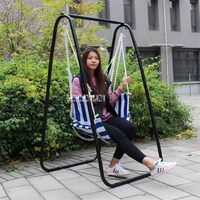 Leisure Home Portable Hanging Chair Student Dormitory Swing Chair Basket High quality Balcony Outdoor Adult Indoor Hammock Chair