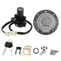 Motorcycle Ignition Switch Fuel Gas Cap Seat Lock Keys for Yamaha YZF R1 R6 R6S FZ6 FJR1300
